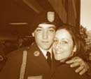 Russell & My daughter Jessica at his Basic graduation in 2006
