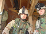 This is Troy C. Linden and I (Spc. Rivera-colon, Luis E.) in Ar Ramati